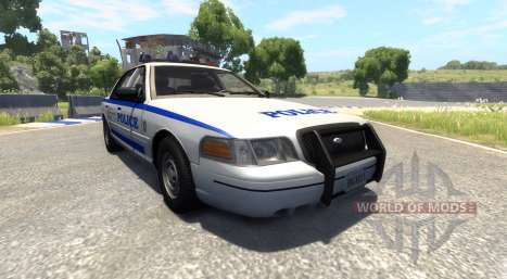 Ford Crown Victoria 1999 v2.0 für BeamNG Drive