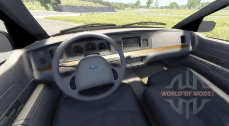 Ford Crown Victoria 1999 v2.0 pour BeamNG Drive