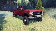 GMC Suburban 1995 Crew Cab Dually red