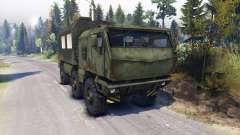 KAMAZ Typhon camion 6x6