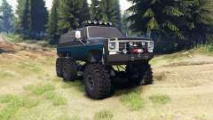 Chevrolet K5 Blazer 1975 Equipped black and blue