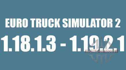 Patch 1.8.1.3 - 1.9.21 pour Euro Truck Simulator 2