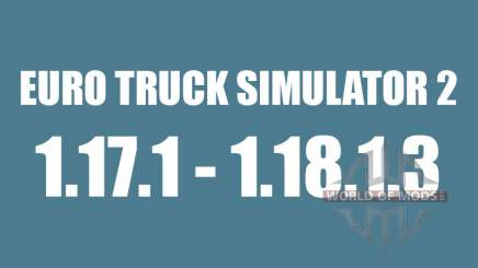 Patch 1.17.1 à 1.18.1.3 pour Euro Truck Simulator 2