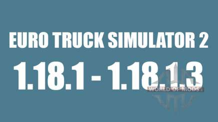 Patch 1.18.1 - 1.18.1.3 pour Euro Truck Simulator 2