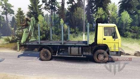 Volvo FL7 für Spin Tires