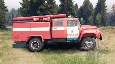 ZIL-130 AC-40 pour Spin Tires