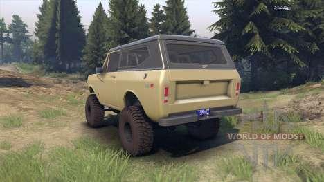 International Scout II 1977 elk für Spin Tires