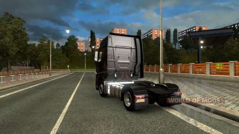Mercedes Actros MPIV pour Euro Truck Simulator 2