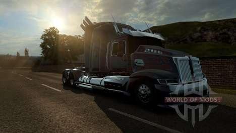 Optimus Prime von transformers 4 für Euro Truck Simulator 2