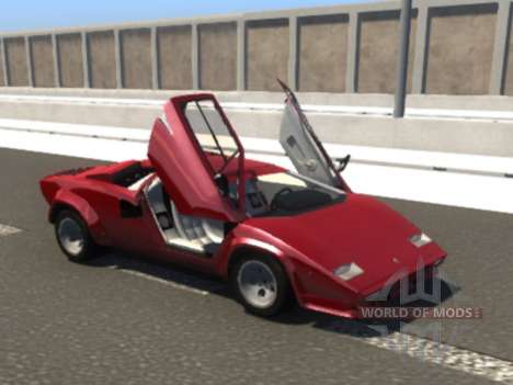 Lamborghini Countach pour BeamNG Drive