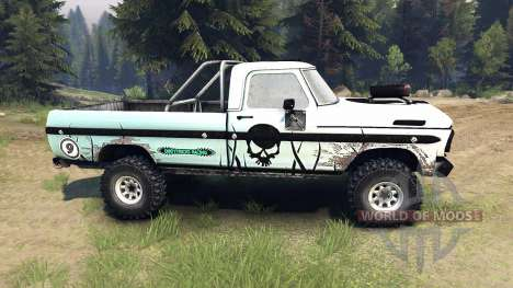 Ford F-100 custom PJ1 pour Spin Tires