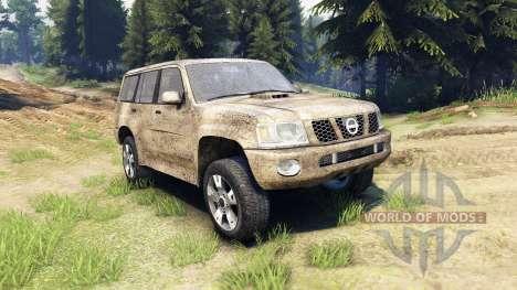 Nissan Patrol 2005 für Spin Tires