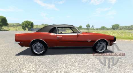Chevrolet Camaro RS SS 396 1968 pour BeamNG Drive