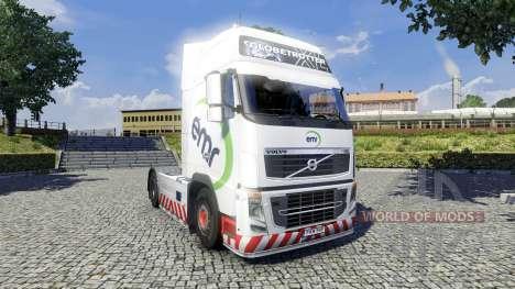 La peau de DME pour Volvo camion pour Euro Truck Simulator 2