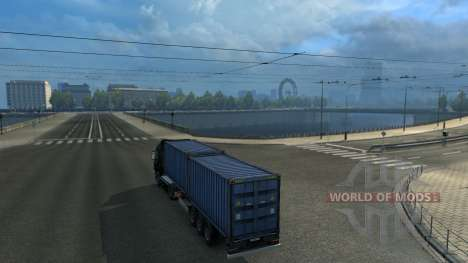 L'Association de la carte: TSM et RusMap Espaces pour Euro Truck Simulator 2