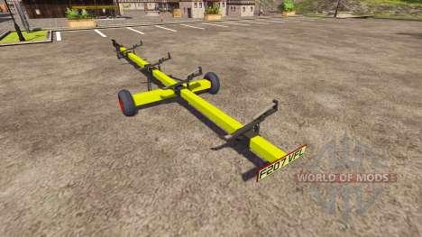 Remorque pour moissonneuse CLAAS pour Farming Simulator 2013