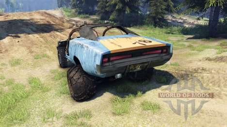 Dodge HL2 blue pour Spin Tires