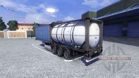 Die container-Auflieger für Euro Truck Simulator 2