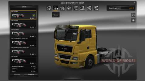 Tous les déverrouillé v1.4 pour Euro Truck Simulator 2