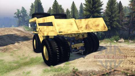 Dump truck Godzilla pour Spin Tires