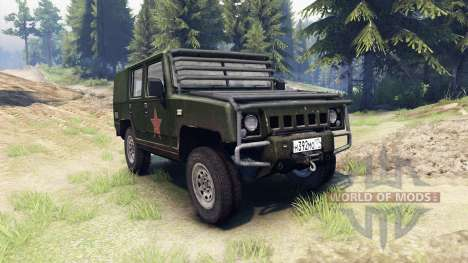 BAW Brave Warrior v1.1 für Spin Tires