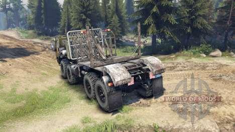 KrAZ-E Sibirien für Spin Tires