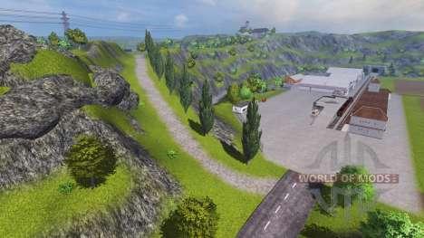 Hagestedt v1.1 pour Farming Simulator 2013