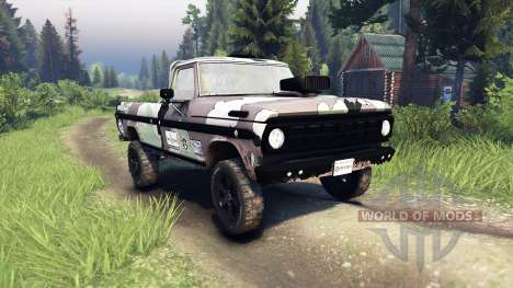 Ford F-100 custom PJ3 pour Spin Tires