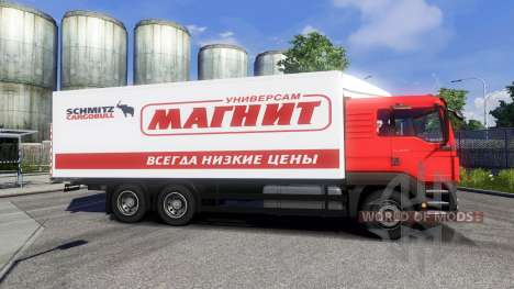 MAN TGS Tandem Aimant pour Euro Truck Simulator 2