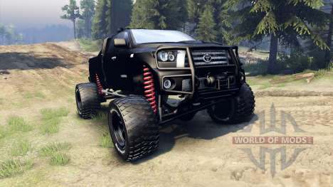 Toyota Tundra off-road pour Spin Tires