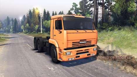 KamAZ-6460 pour Spin Tires