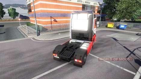 Mercedes-Benz Actros EuroTrans pour Euro Truck Simulator 2