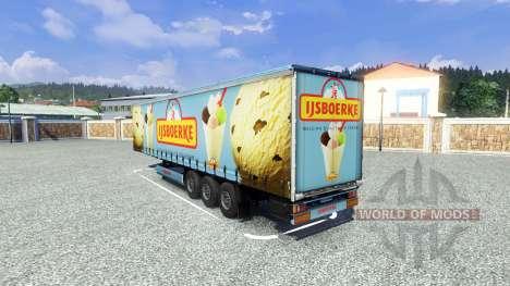 Semi Ijsboerke pour Euro Truck Simulator 2