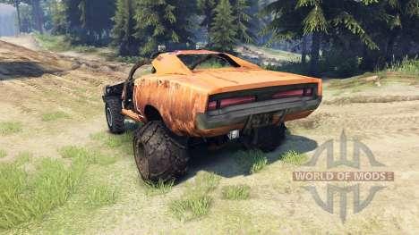 Dodge HL2 orange für Spin Tires