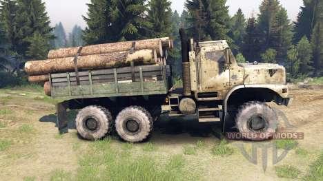 Oshkosh MTVR 6x6 für Spin Tires