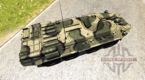 BTR-80 für BeamNG Drive