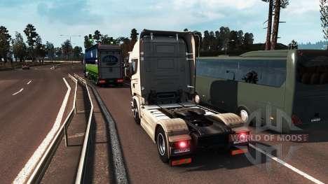 Des graphismes réalistes pour Euro Truck Simulator 2