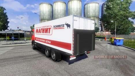 MAN TGS Tandem-Magnet für Euro Truck Simulator 2
