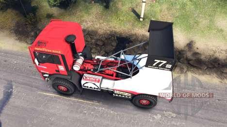 MAN TGA Dakar für Spin Tires