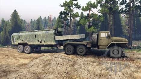 Ural-380 C. für Spin Tires
