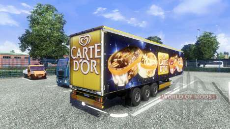 Semi-Carte Dor pour Euro Truck Simulator 2