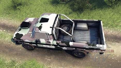 Ford F-100 custom PJ3 für Spin Tires