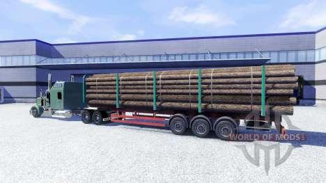 Kenworth W900L pour Euro Truck Simulator 2