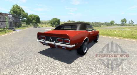 Chevrolet Camaro RS SS 396 1968 für BeamNG Drive