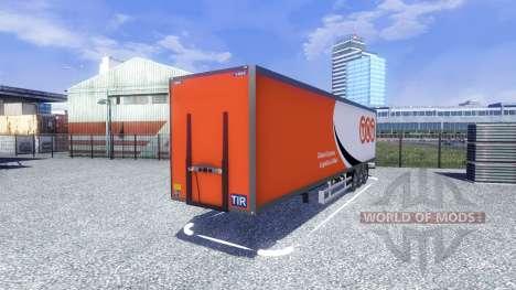 La Semi-Remorque Narko pour Euro Truck Simulator 2