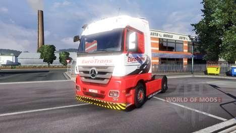 Mercedes-Benz Actros EuroTrans für Euro Truck Simulator 2