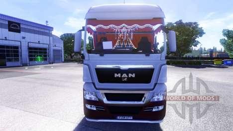Neue innen-Traktoren MANN für Euro Truck Simulator 2