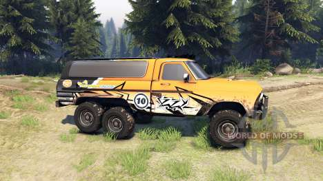 Ford F-100 6x6 custom für Spin Tires
