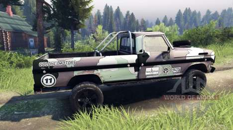 Ford F-100 custom PJ3 für Spin Tires
