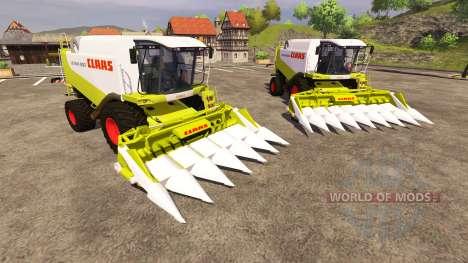 Жатки CLAAS Conspeed 6 и CLAAS Conspeed 8 für Farming Simulator 2013